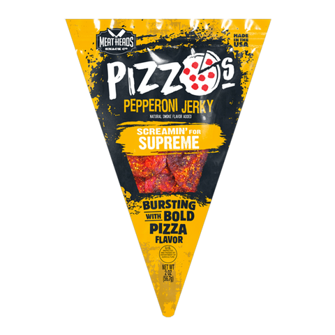 Pizzos Pepperoni Jerky - Screamin' For Supreme