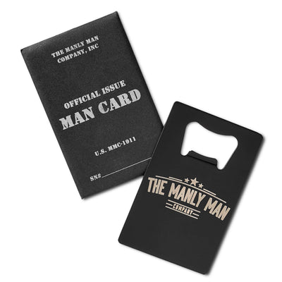 The Official MAN CARD (Beer Bottle Opener)