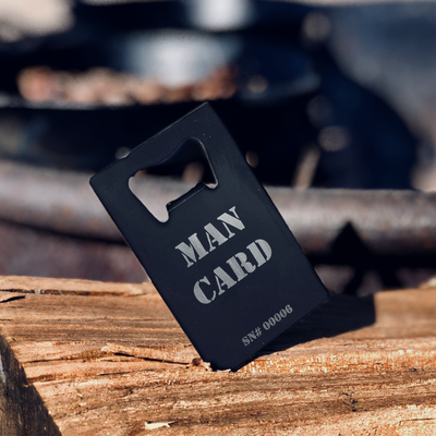 The Official MAN CARD (Bottle Opener)