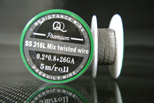 Mix Twisted Wire SS-316L Stainless Steel Wire Spools