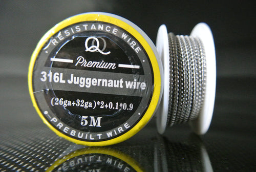 Juggernaut Clapton Wire SS-316L Stainless Steel 15ft+ Spool