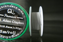 5 Meter - 15ft+ Alien Clapton Wire Spool in Stainless Steel SS-316L