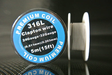 Clapton Wire Spools Stainless Steel SS-316L