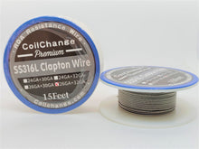 Clapton Wire SS-316L (4 Sizes)