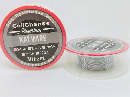 Standard Round Wire (Kanthal) 9 Sizes 30ft Spools