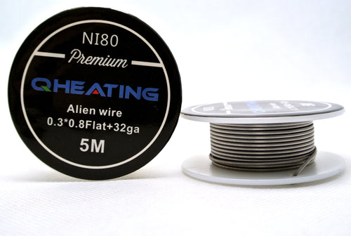 Alien Clapton V1 NI80 -15ft Spool