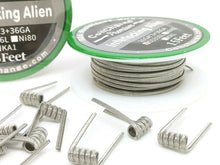 Interlocking Alien (SS-316L) Stainless Steel Spool (15ft)