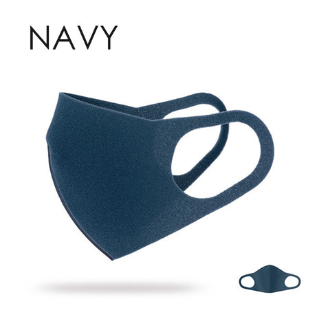 Breathable Fashion Mask - 1pc navy