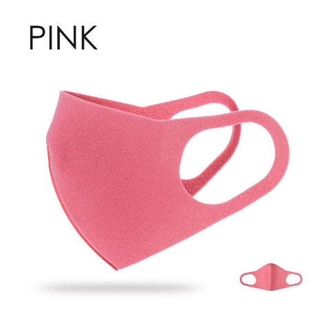 Breathable Fashion Mask - 1pc pink