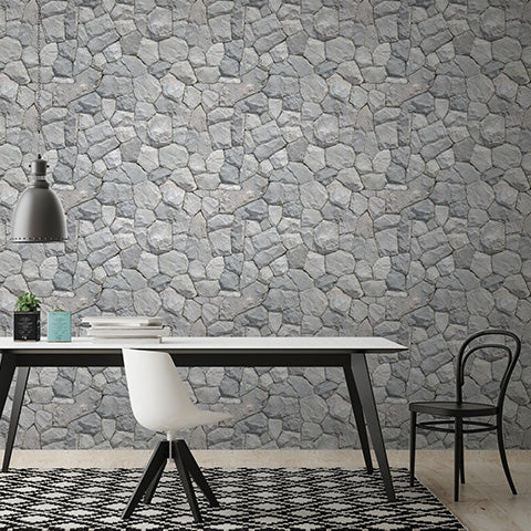 U2 Wallpaper - Crushed Stone- 60 Sheets