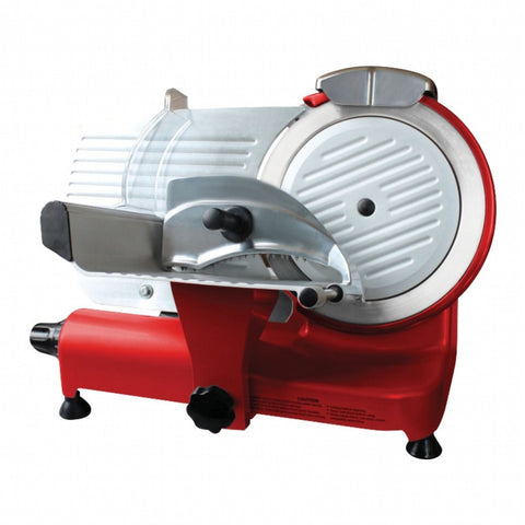 The Sausage Maker 10 Inch Heavy Duty Meat Slicer - Red