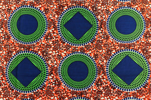 Ankara Wax Design # 1014