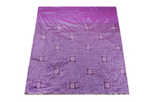 Load image into Gallery viewer, Machine Embroidered George  Wrapper Design # 7434 - Lilac - With Blouse