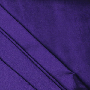 Plain Silk Taffeta - Purple - 5 Yard Piece