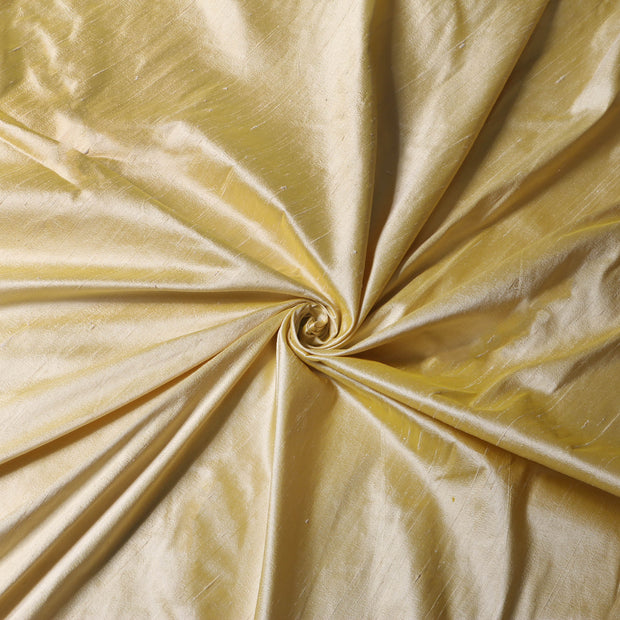 Pure Silk - One Tone - Butter Yellow - Per Yard