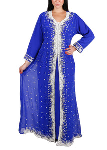 Kaftan Design # 7103 - Royal Blue