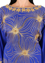 Load image into Gallery viewer, Kaftan Design # 7204 - Royal Blue - Free Size
