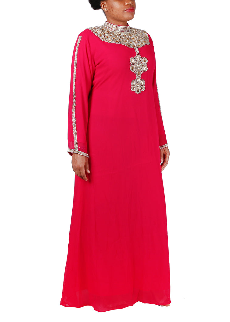 Kaftan Design # 7062 - Red