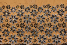 Load image into Gallery viewer, Hand Stoned George Wrapper Design # 6732 - Champagne Gold - With Blouse