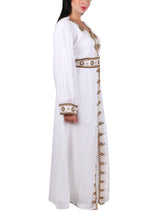 Load image into Gallery viewer, Kaftan Design # 7095 - Pure White