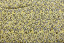 Load image into Gallery viewer, Hand Stoned George Wrapper Design # 6753 - Yellow - With Blouse