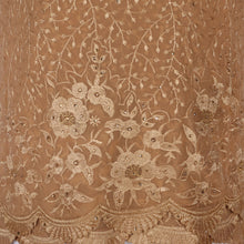 Load image into Gallery viewer, Wrap Around Scarf  Design # 2006 - Champagne Gold - 5 Yard Piece