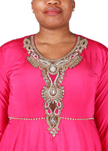 Load image into Gallery viewer, Kaftan Design # 1002 - Fuchsia Pink