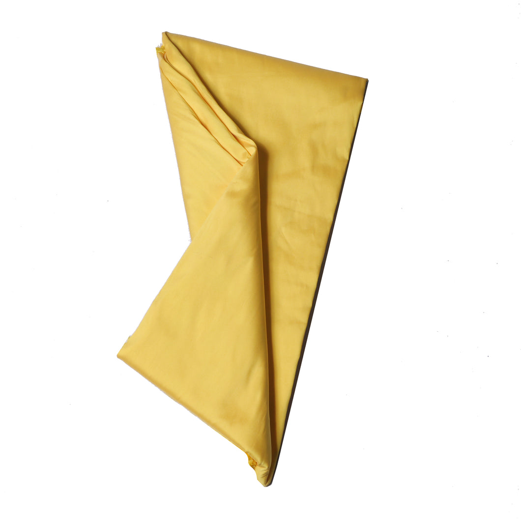 Plain Silk Taffeta - Banana Yellow - 5 Yard Piece
