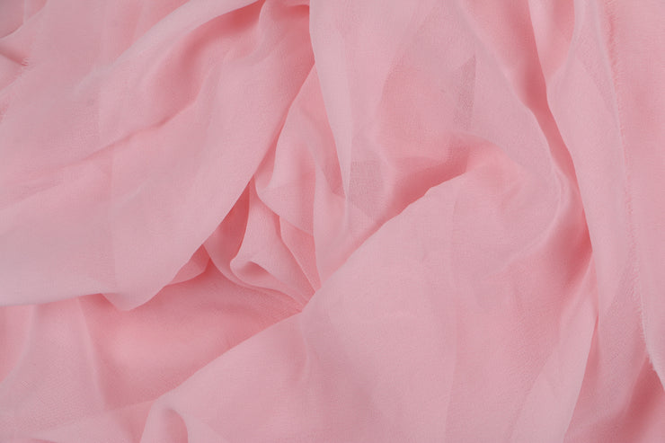 Georgette - Baby Pink - 5 Yard Piece