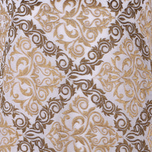 Load image into Gallery viewer, Machine Embroidered Fabric Design # 4126 -Pure White  - 5 Yard Piece