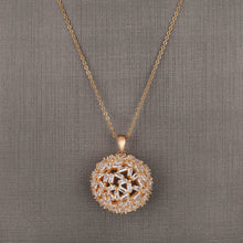 Load image into Gallery viewer, Caramel Sphere Pendant Set - Design - # 3007