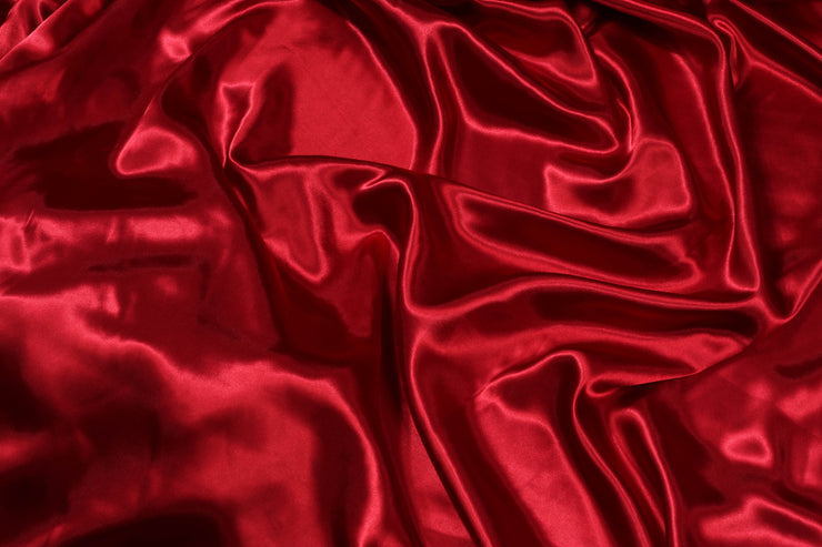 Poly Silk Satin - Maroon - 5 Yard Piece