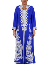 Load image into Gallery viewer, Kaftan Design # 7166 - Royal Blue