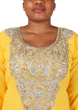 Load image into Gallery viewer, Kaftan Design # 7055 - Yellow