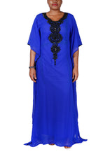 Load image into Gallery viewer, Kaftan Design # 1019 - Royal Blue