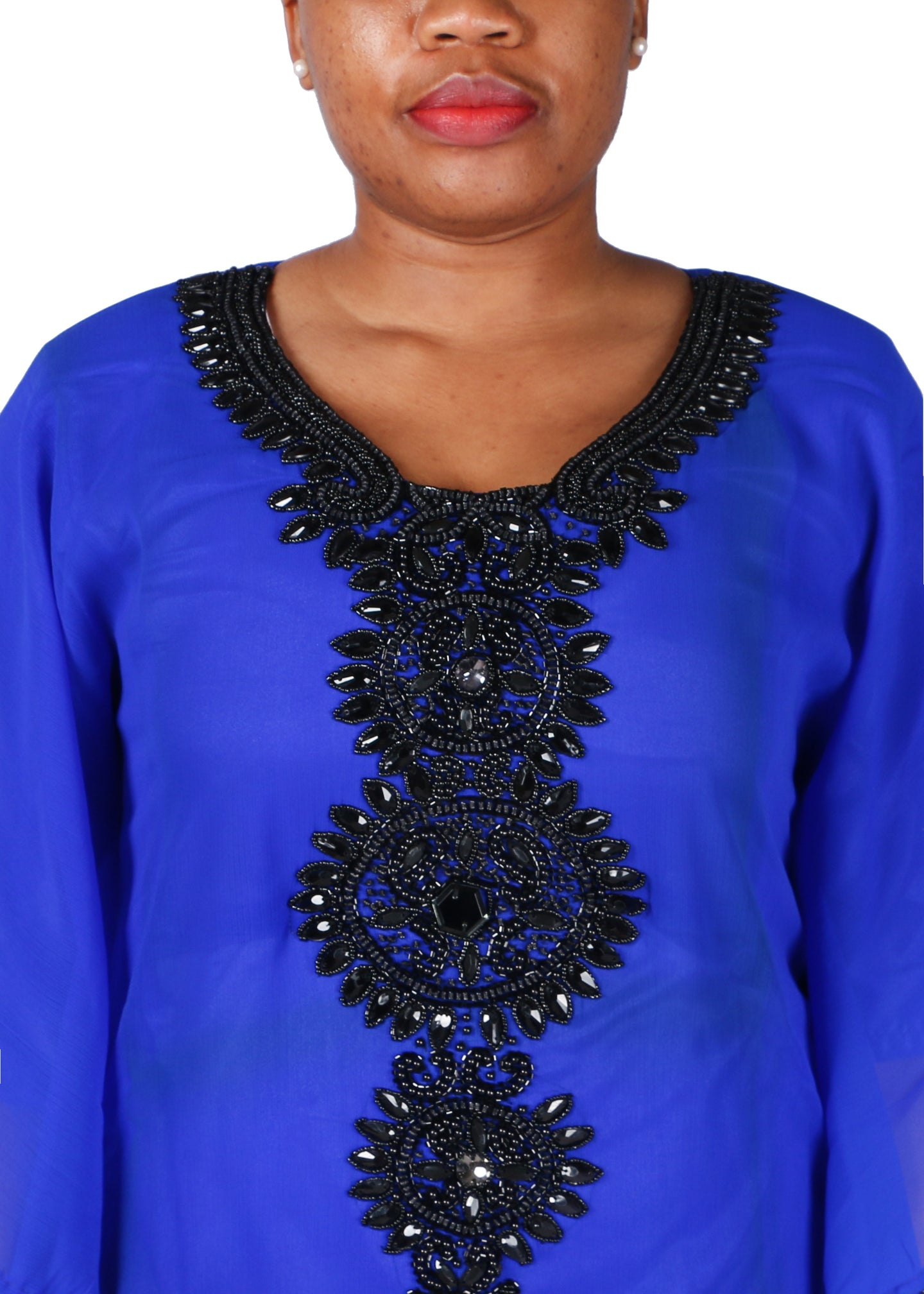 Kaftan Design # 1019 - Royal Blue