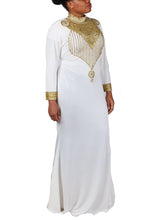 Load image into Gallery viewer, Kaftan Design # 7190 - Cream - XXL