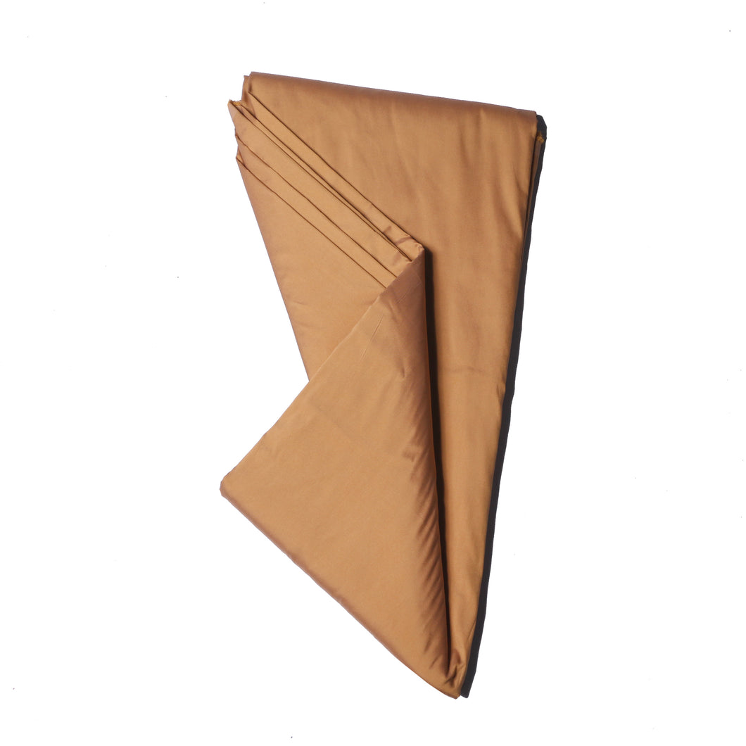 Plain Silk Taffeta - Champagne Gold - 5 Yard Piece