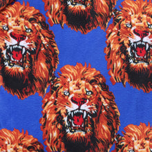 Load image into Gallery viewer, Printed Velvet Design # 3116 - Royal Blue - Per Yard