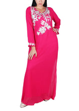 Load image into Gallery viewer, Kaftan Design # 7145 - Fuchsia Pink