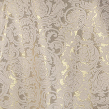 Load image into Gallery viewer, Jacquard Fabric Design # 1004 - Cream - Per Yard