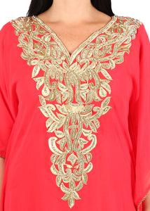 Kaftan Design # 1016 - Red