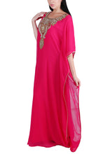 Load image into Gallery viewer, Kaftan Design # 7004 - Fuchsia Pink