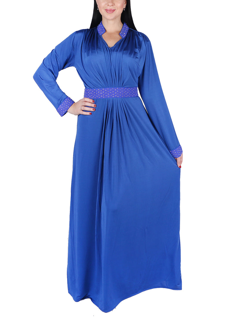 Kaftan Design # 7001 - Royal Blue