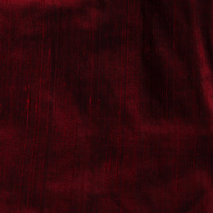 Pure Silk - One Tone - Maroon - Per Yard