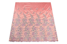 Load image into Gallery viewer, Hand Stoned George Wrapper Design # 6712 - Peach - With Blouse