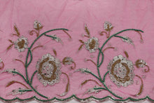 Load image into Gallery viewer, Hand Embroidered Blouse Design # 3284 - Fuchsia Pink - 1.7 Yards