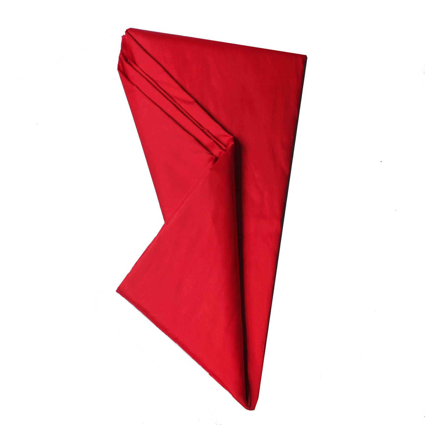 Plain Silk Taffeta - Red- 5 Yard Piece