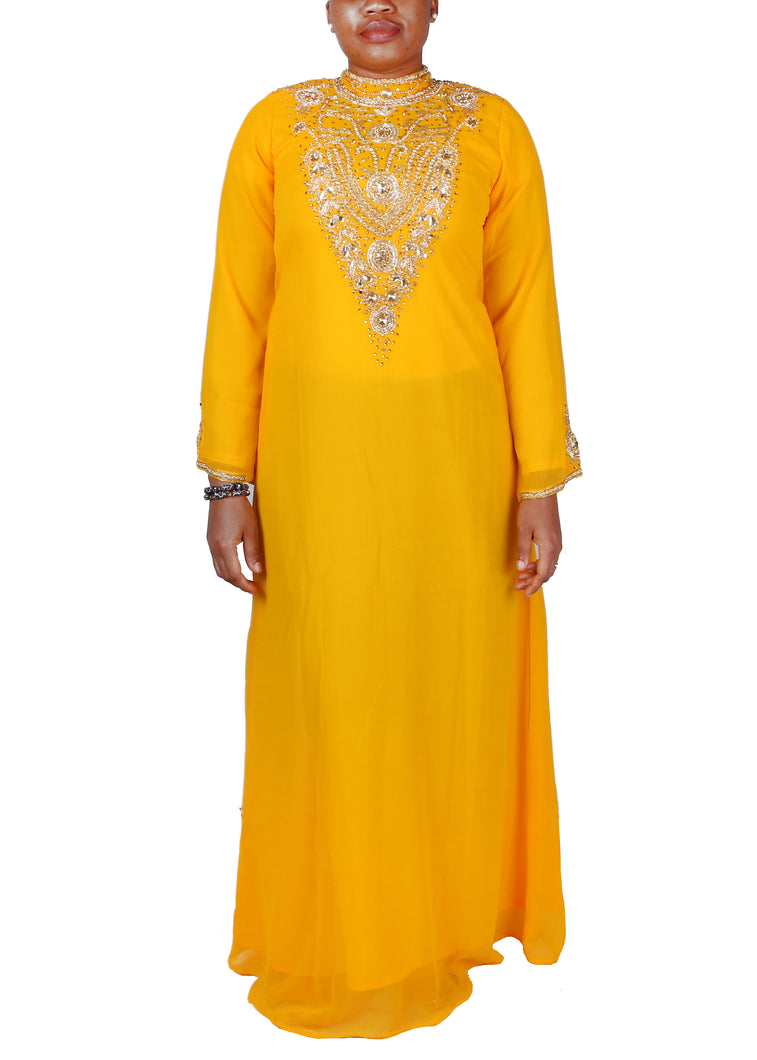Kaftan Design # 1037 - Yellow Gold