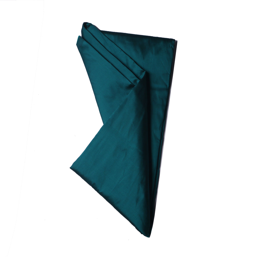 Plain Silk Taffeta - Bottle Green - 5 Yard Piece